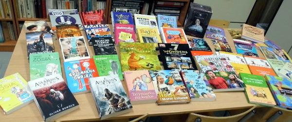 Nowe książki w naszej bibliotece