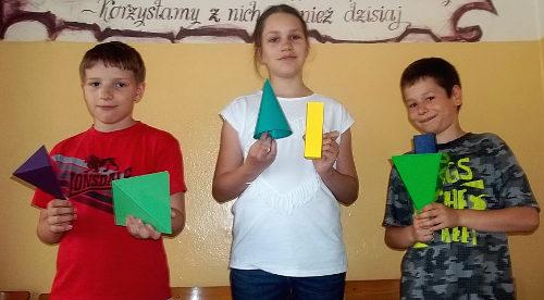 Laureaci konkursu matematycznego